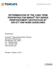 Woven geotextiles tencate geosynthetics.
